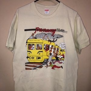 "Supreme "" Punany Train"" tee"